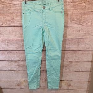 Justice girls mid rise jeggings size 12